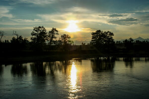 Арзгун. река Гарга