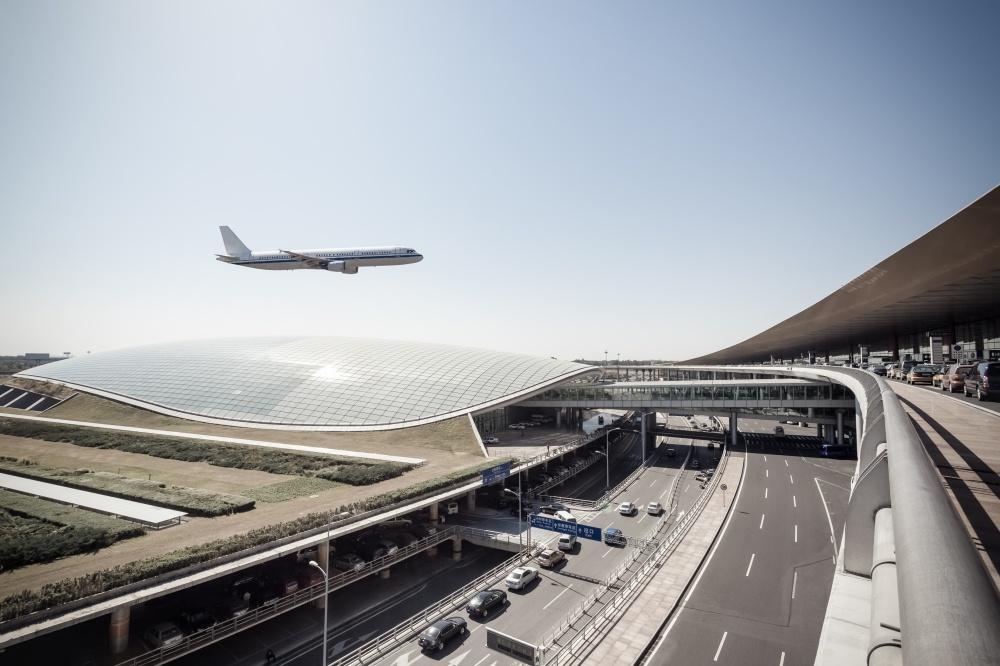 © depositphotos  Первый аэропорт Китая. Контуры здания напоминают фигуру дракона, азал ожидан