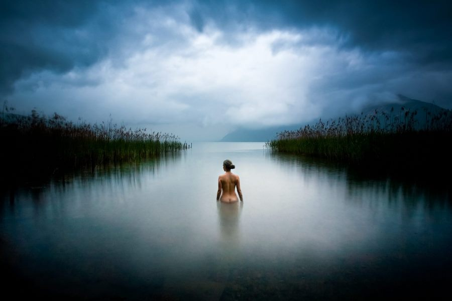 Ева в раю: ода природе и женщине в фотопроекте Себастьена Барриоля (6 фото) 18+