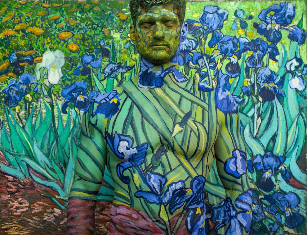 4. Композиция «8 000 000». «Портрет почтальона Джозефа Рулина», Винсент ван Гог.