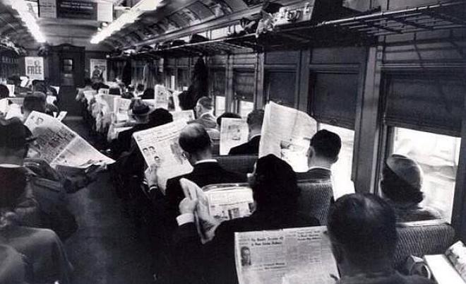 Купальники 1954 года. Сейчас это называется платьем.