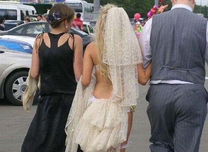Наряды, которые Вы бы вряд ли надели на свою свадьбу