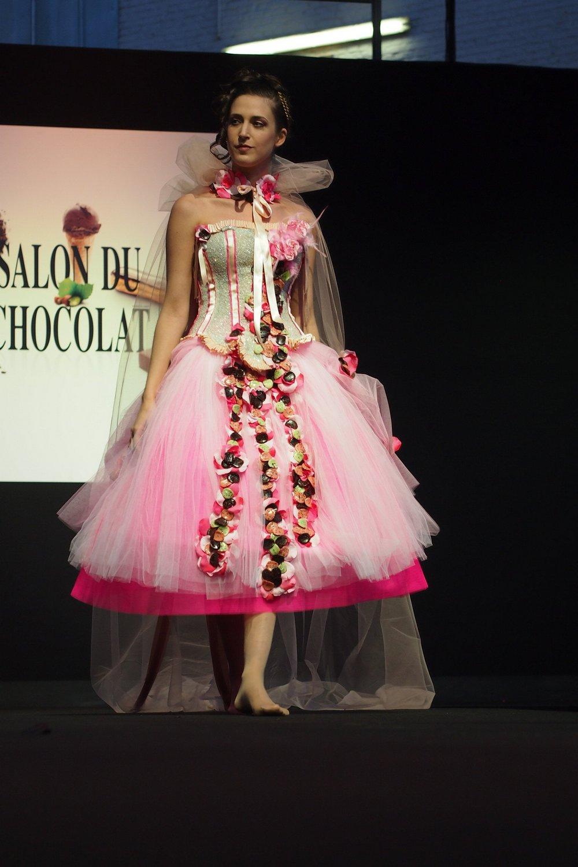 Шоколадная мода «Salon du Chocolat»