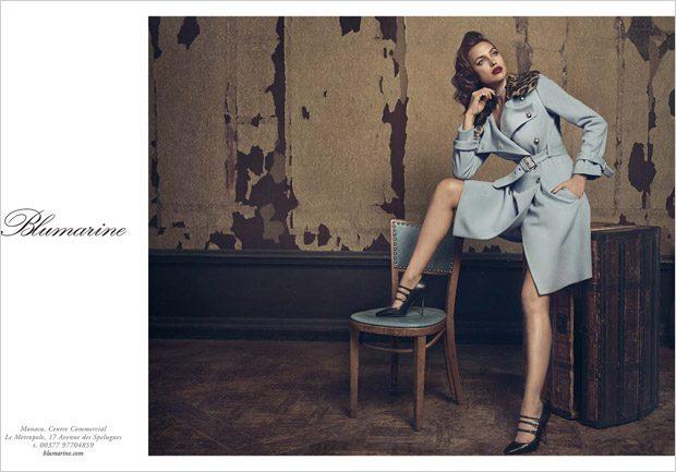 Ирина Шейк в рекламе Blumarine