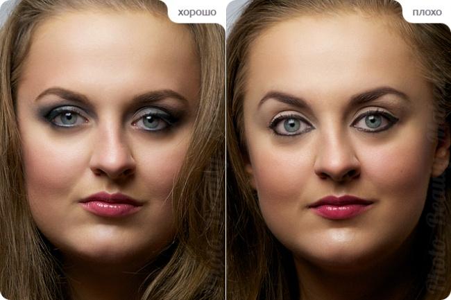 © photobeautymakeup.blogspot.ru  Подведенное нижнее веко— гарантия того, что глаза будут каза