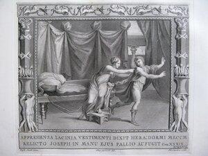 Иосиф и жена Пантефора (Бытие, XXXIХ, 26-28)