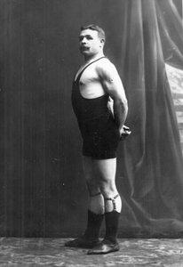 Портрет борца, участника чемпионата Сумрова