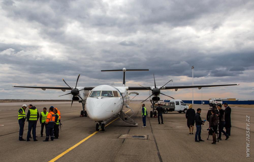 KZO — Новый рейс Qazaq Air