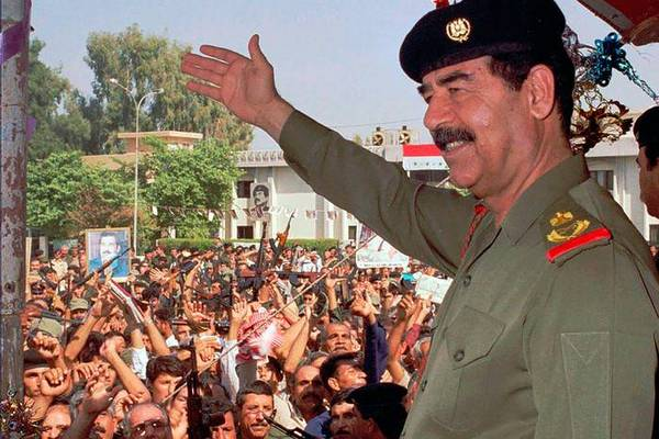 nazi germany and c saddam hussein Relations between nazi germany and the arab world the relationship between nazi germany (1933–1945) and the leadership of the arab world encompassed contempt.