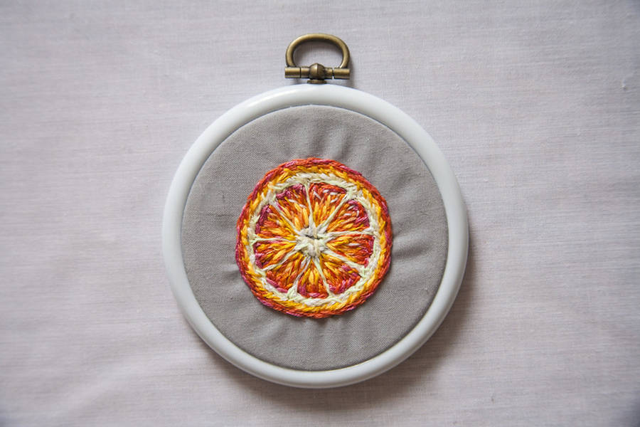 Beautiful Embroideries by Danielle Clough