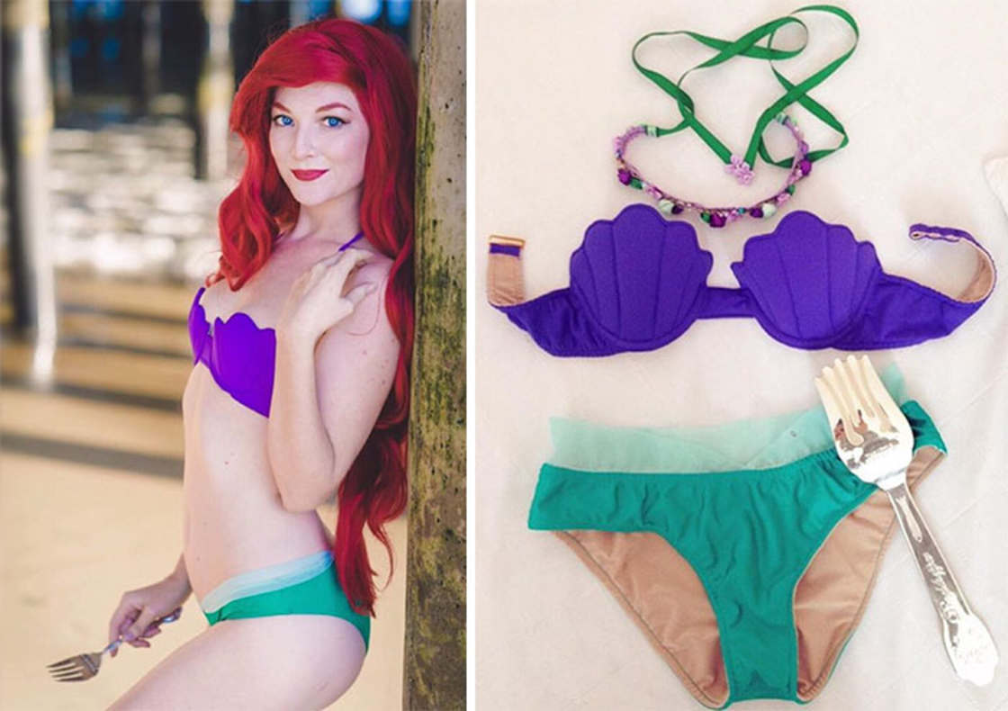 Enchanted Bikinis - The swimsuits inspired by Disney Princesses