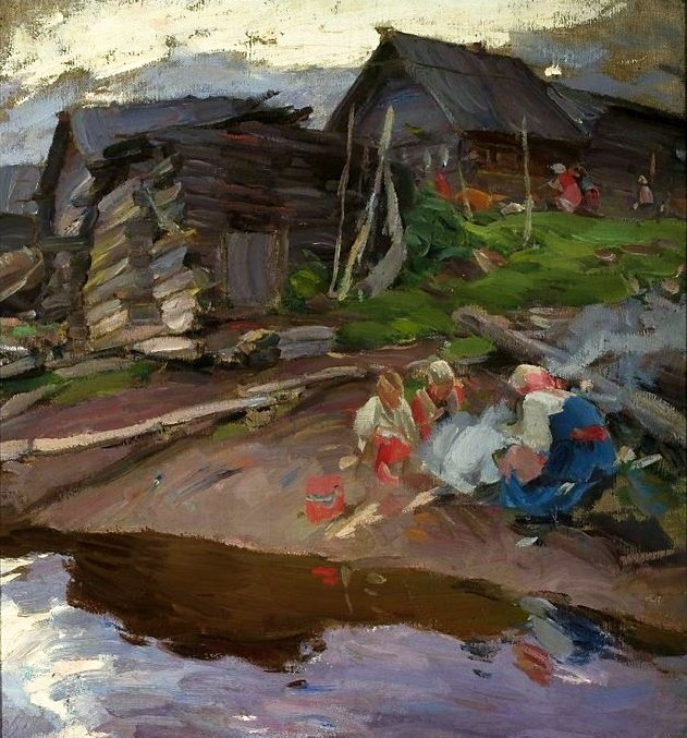 4 Abram Efimovich Arkhipov     In the Evening.jpg