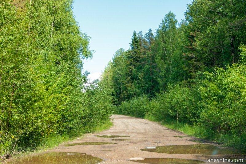 Дорога в Пяльму