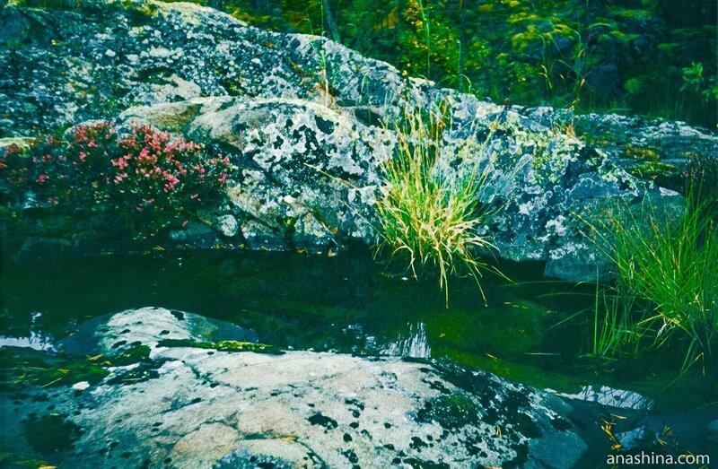 Скалы, Онежское озеро