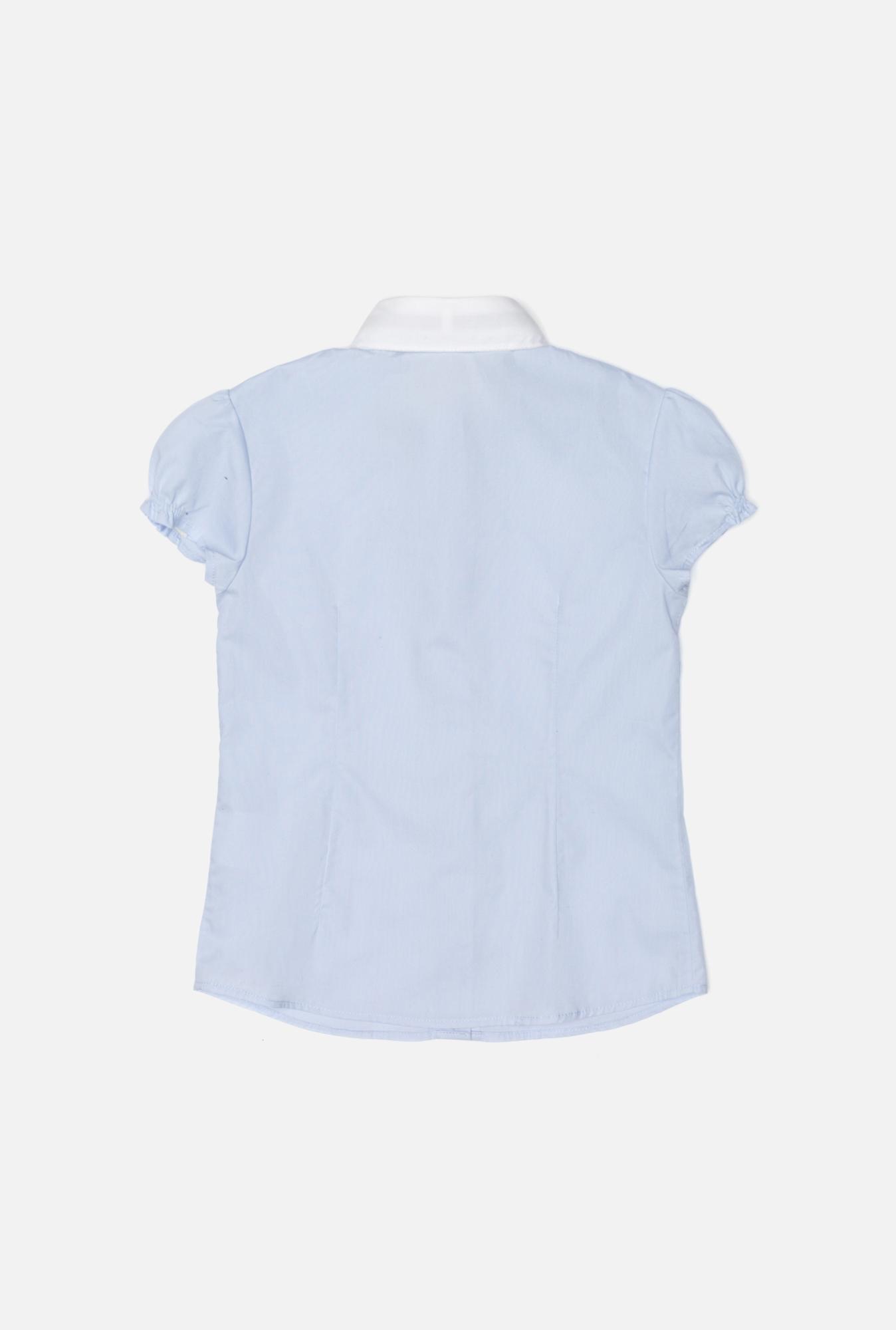 20200270003 Блузка детская для девочек Zeyn голубой