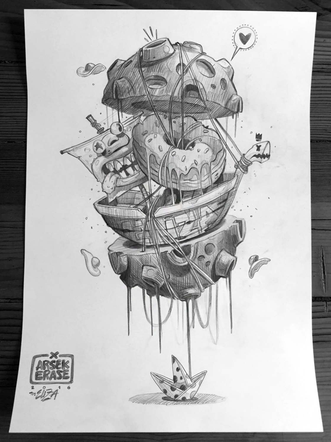 The latest illustrations from ERASE