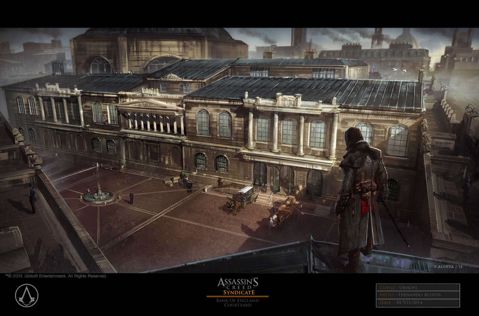 Assassin's Creed Syndicate Concept Art by Fernando Acosta (33 pics)