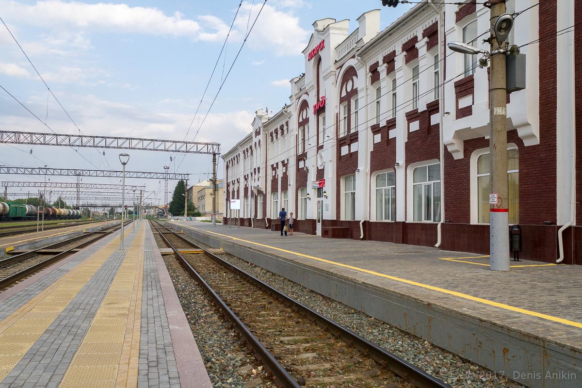 Железнодорожный вокзал Аткарск фото 7