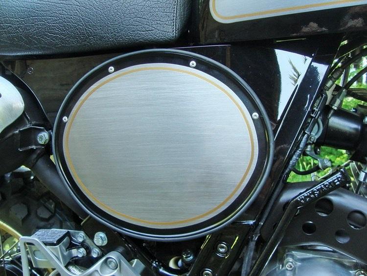 Ханс Нюберли: скрэмблер Honda NX650 Dominator