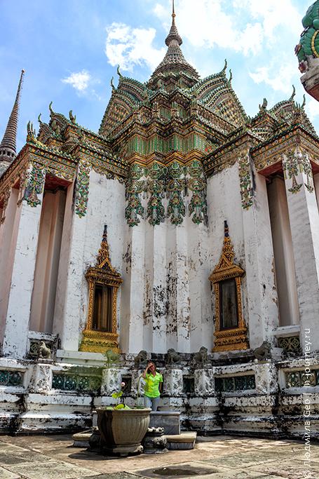 ват по храм лежащего будды