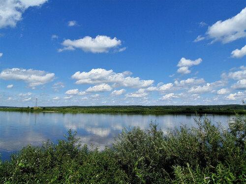 Речка-реченька, родные берега...4
