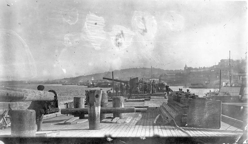 Речная флотилия на Каме