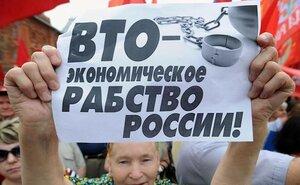 Россия может выйти из ВТО. В Госдуму внесен законопроект о прекращении членства в этой торговой организации