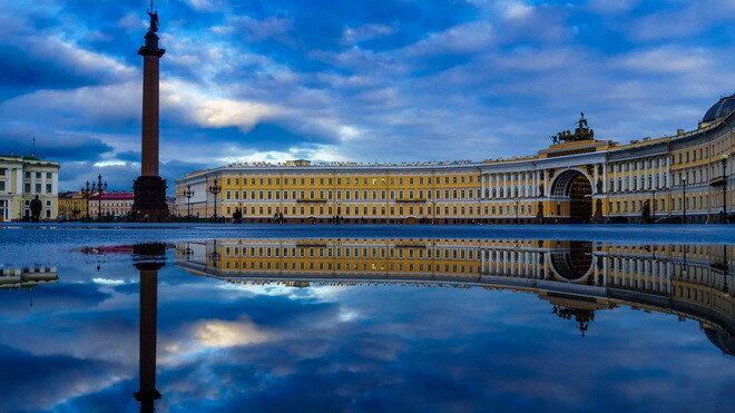 Дворцовая площадь. Санкт-Петербург