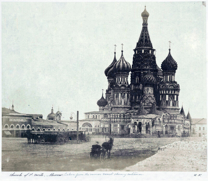 Ruler on the Red Square