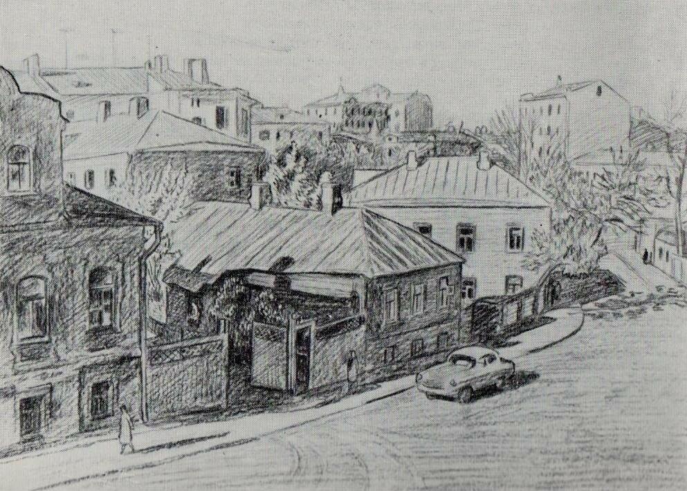 Вакидин В. Н. Старые дома напротив Зачатьевского монастыря 61.jpg