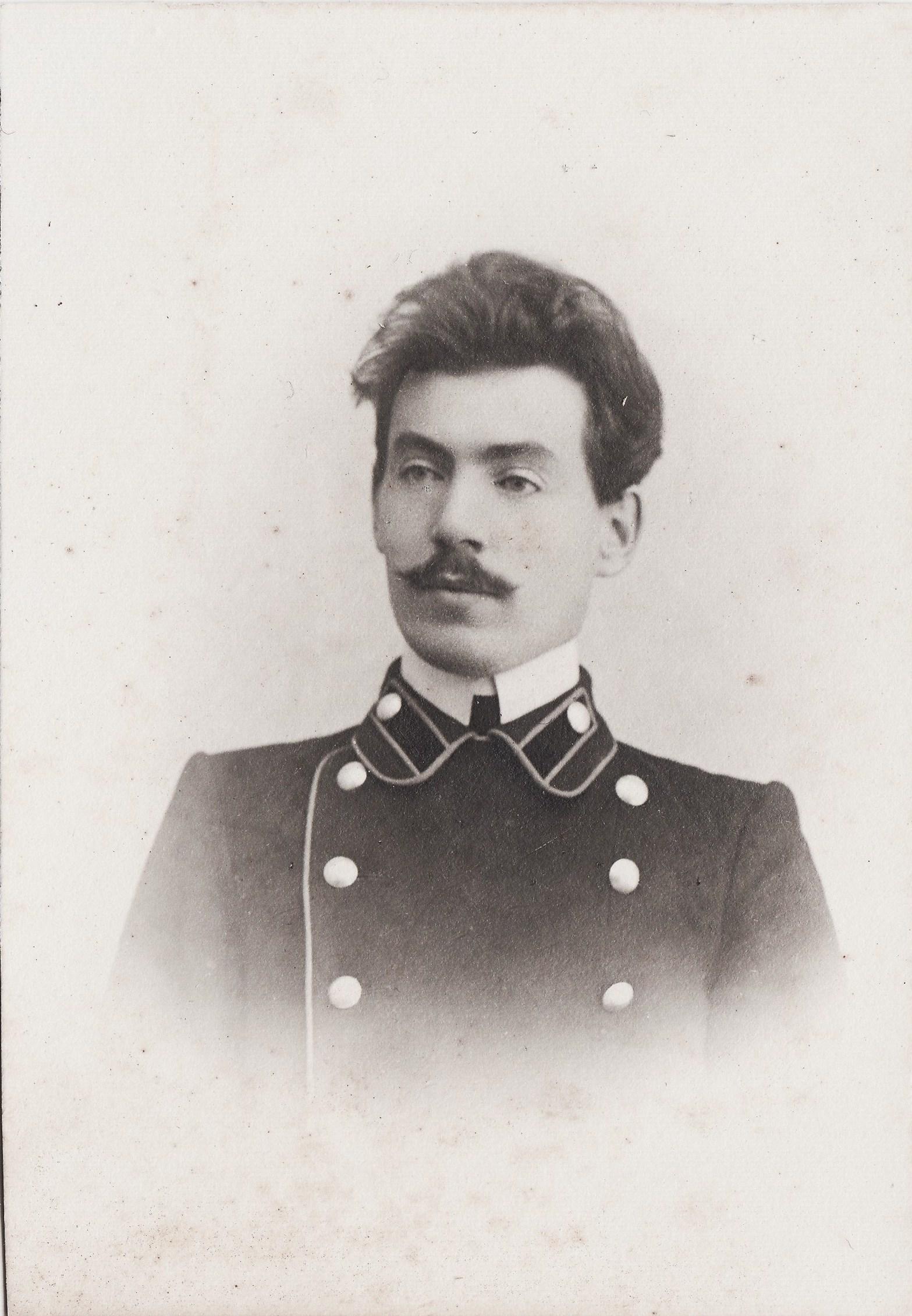 Студент Никольский Иван Петрович. I отделение разряд 2.