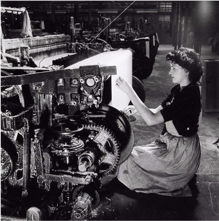 1946. Текстильная промышленность. Завод SAIC (Верхний Рейн)