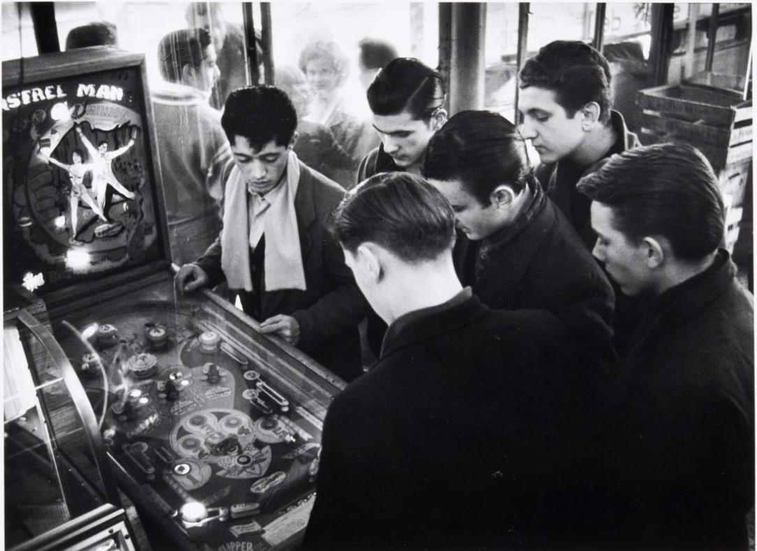 1955. Бельвиль. Париж