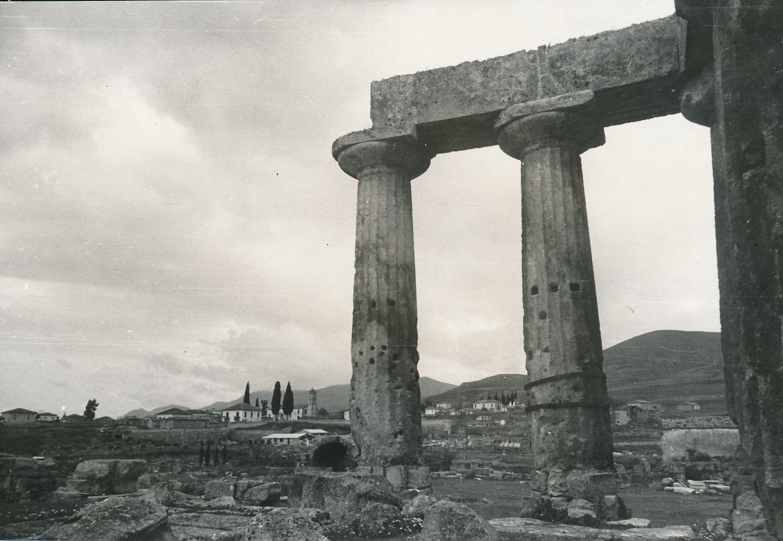 1950. Коринф. Храм Аполлона
