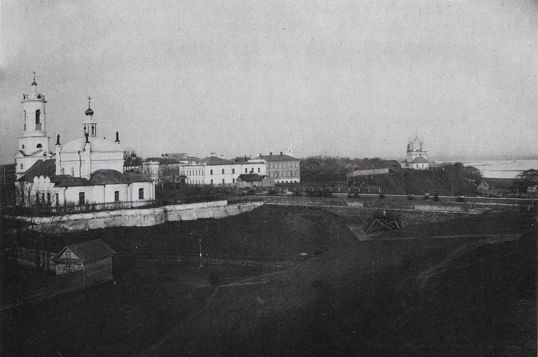 Ильинская церковь и Глебовский мост 1900-1905