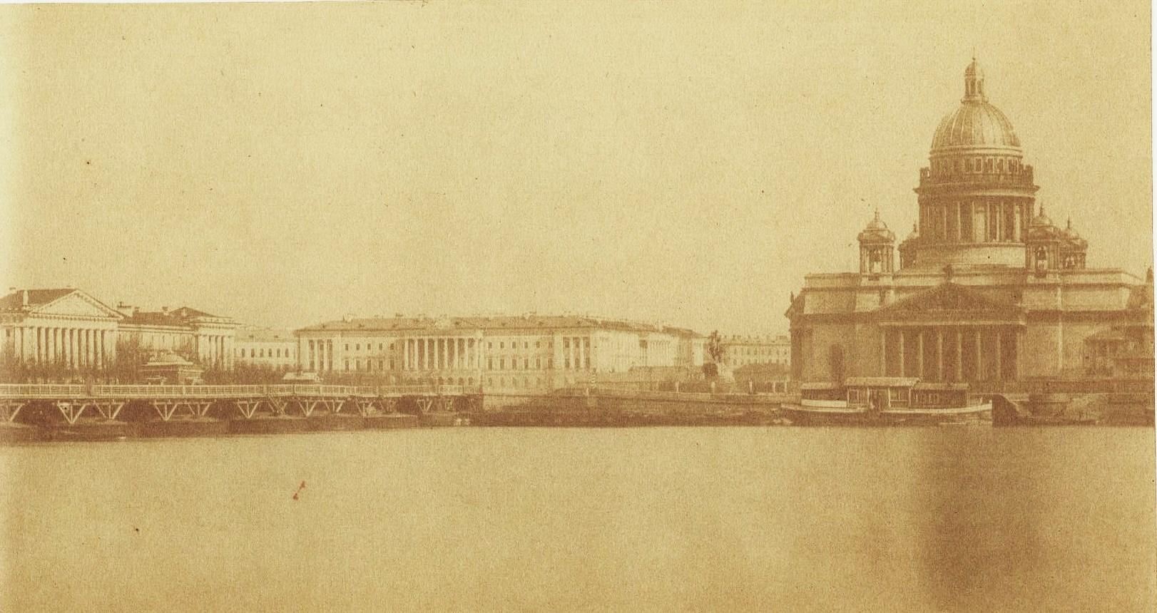 1852. Вид на Сенатскую площадь