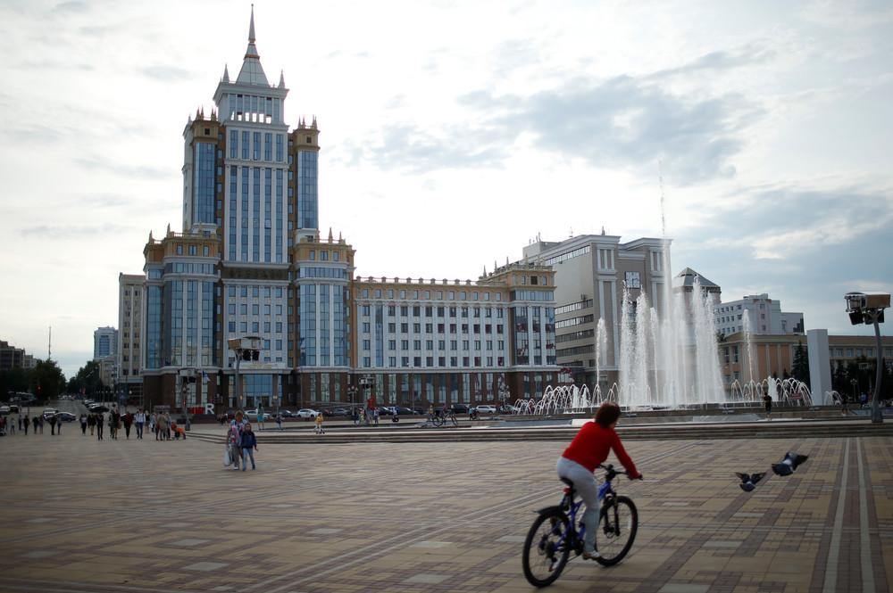 Уличные снимки российских городов, в которых пройдет Чемпионат мира по футболу 2018