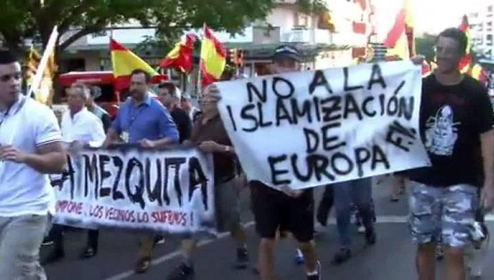 Жители Барселоны протестовали против наплыва туристов