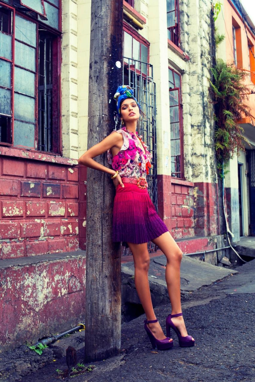 Livia Rangel by Daniela Rettore for ELLE Kazakhstan August 2017