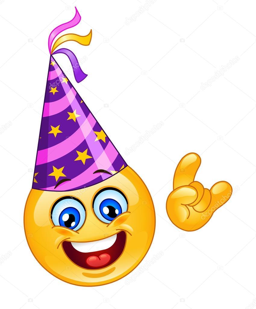Открытки с днем рождения смайлика. Смайлик празднует победу открытки фото рисунки картинки поздравления