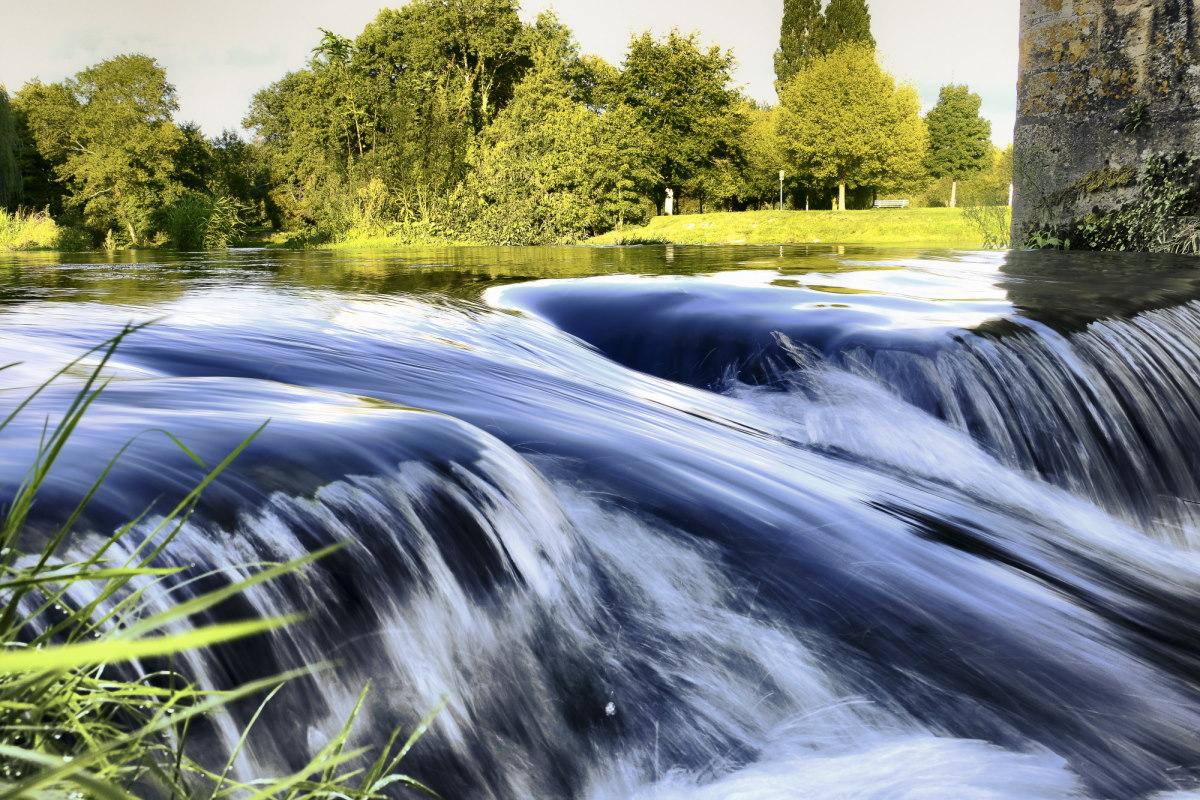 река Хуиснс  riviere de Huysnes