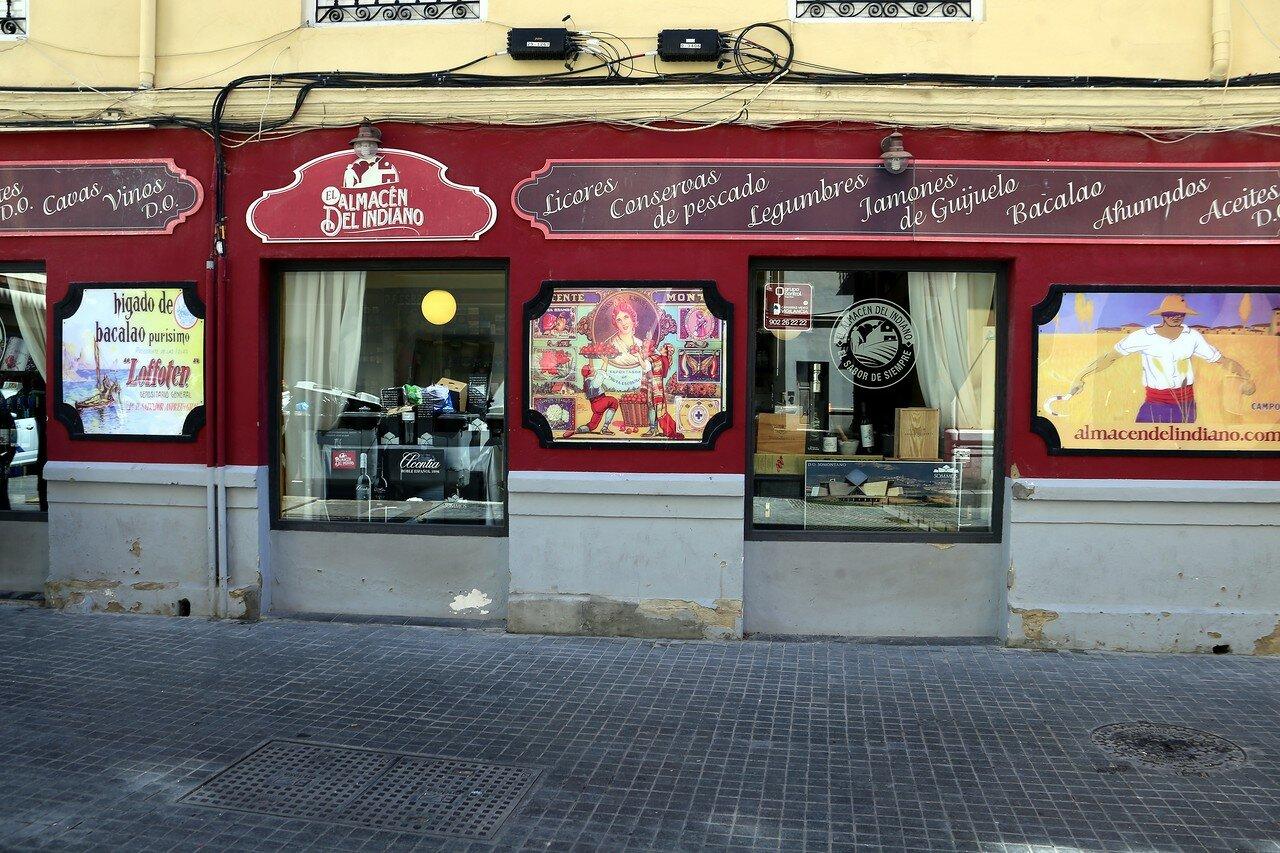 Малага. Ресторан El Almacén Del Indiano