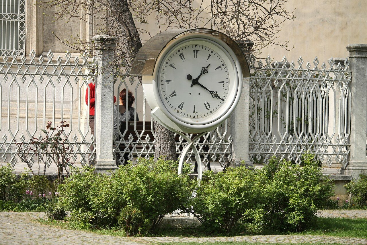 Стамбул, Дворец Долмабахче. Музей часов (Saat Müzesi)