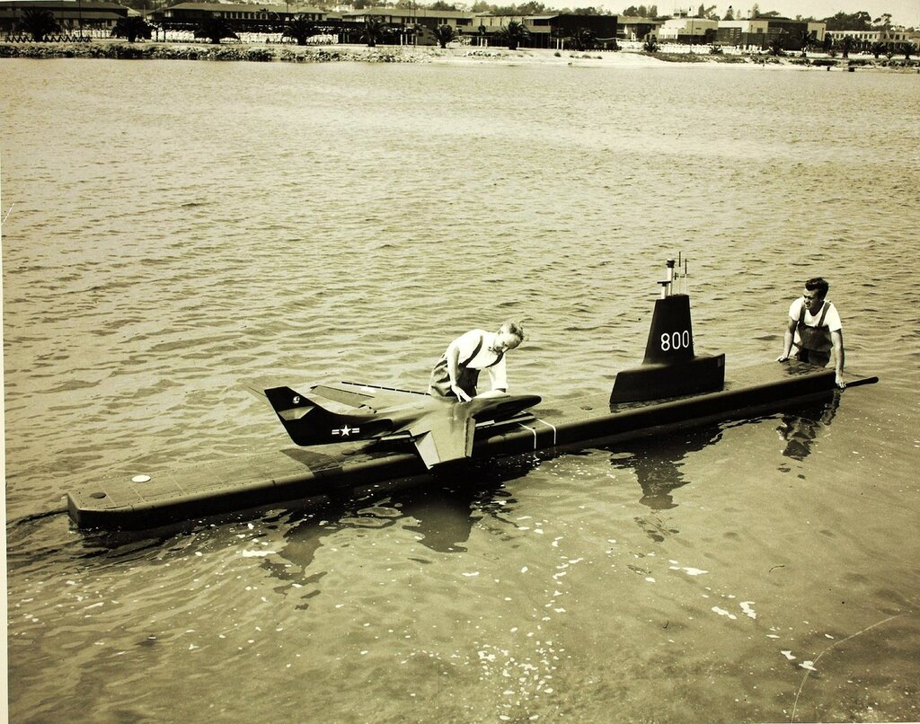 General Dynamics Skate Tesd, General Dynamics Test in NTC estuary Skate Test, 1950-1959.
