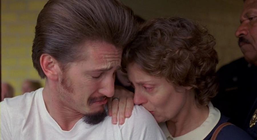 Фильм, касающийся смертной казни. Здесь Сьюзен Сарандон выступает в роли монахини Хелен Преджан, кот