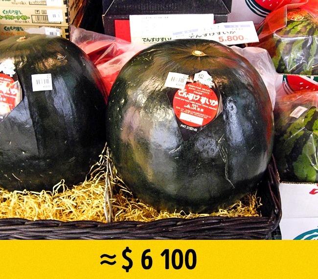 © puamelia/Flickr  Этот арбуз, обладающий «особым типом сладости», растет только наяпонском о