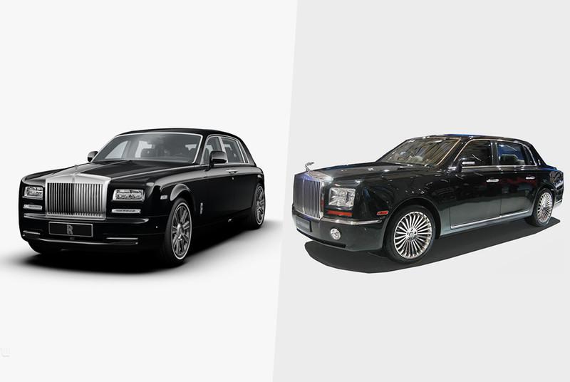 Пример беспрецедентно амбициозного плагиата — флагманская модель марки Geely, копирующая Rolls-Royce