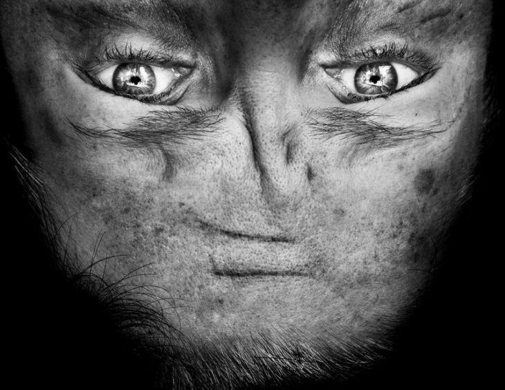 Пришельцы среди нас: перевернутое лицо, которое напоминает инопланетянина