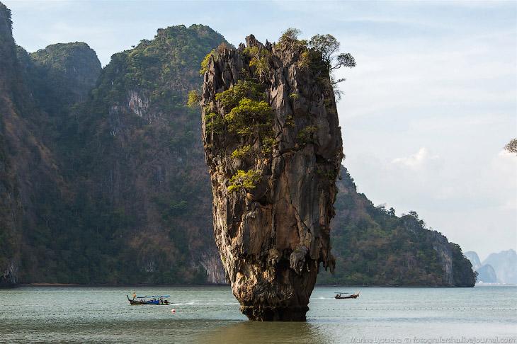 Остров Бонда и залив Панг Нга (36 фото)