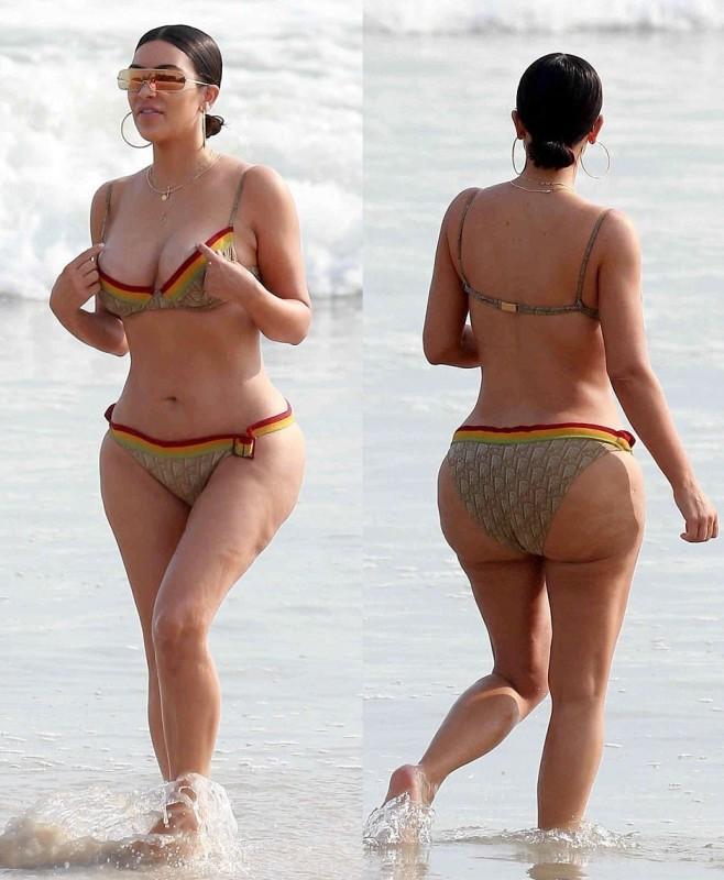 6. Ким не так сексуальна, как хочет казаться Красота Ким Кардашьян — что-то сродни массовому гипнозу